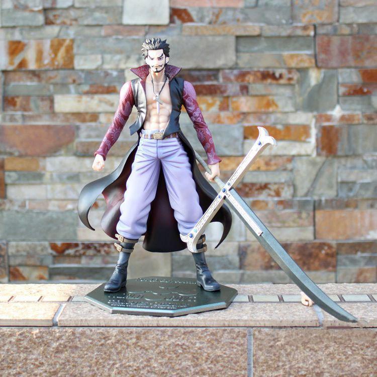 Mihawk Figure with Sword