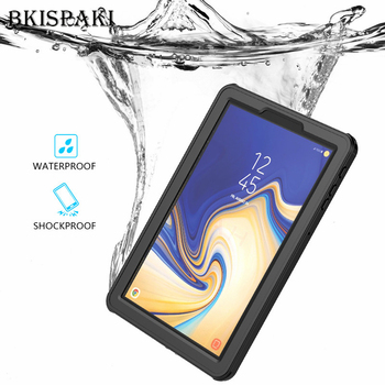 Tab S4 Tablet Waterproof Shockproof Dust Proof Cover For Samsung Galaxy Tab S4 T830 T835 Transparent Underwater Diving Fundas цена 2017