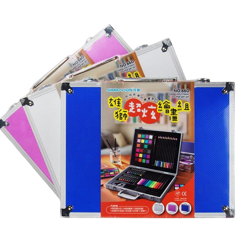 Simbalion Stunning watercolor pastel pastel painting group children's painting pencil box set скатерть la pastel la pastel mp002xu00uw1