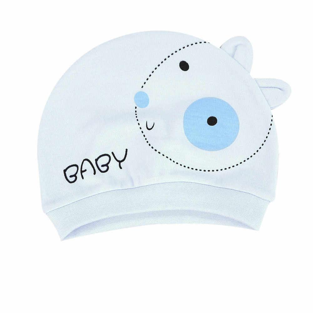 การถ่ายภาพทารกแรกเกิดอุปกรณ์เสริมฤดูใบไม้ร่วงเด็กหมวกผ้าฝ้ายหมวกเด็กสาวหมวกเด็กเด็ก Bonnet หมวกเด็ก # K13