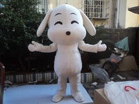 Perro encantador traje de La Mascota del perro de tamaño Adulto traje de La Mascota Envío gratis