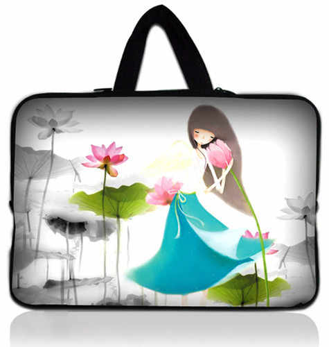 "Venda quente de charme 12 "" Laptop Carry Case Bag luva para 11.6 "" Apple Macbook Air"