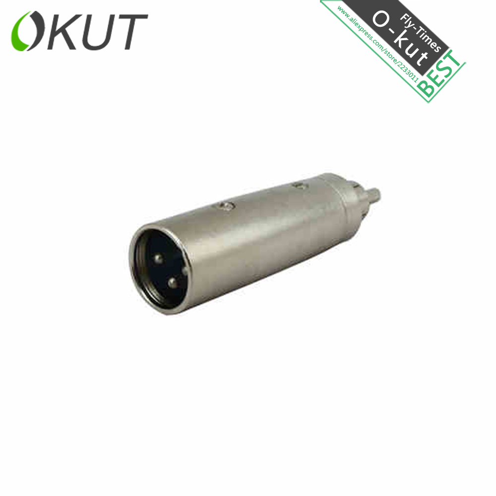 Okut P681 Rca Male To Xlr Male Adapter Av Audio Adapter