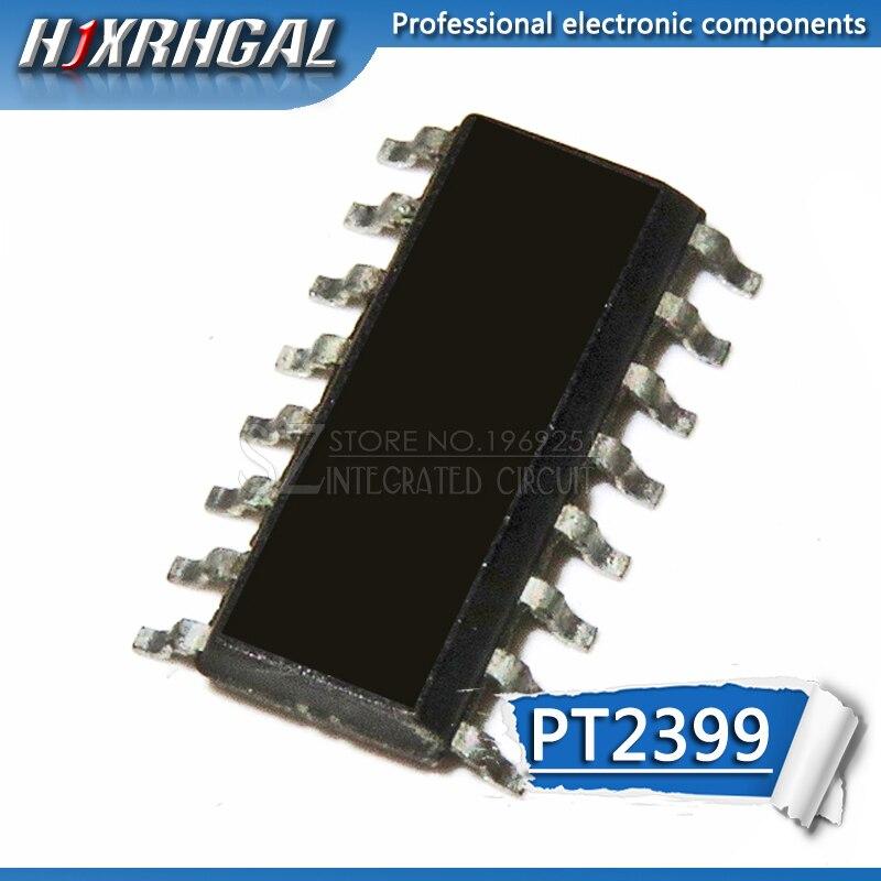 Бесплатная доставка, 10 шт./лот, чип PT2399 SOP-16, цифровая обработка звука, схема p, новинка, оригинал