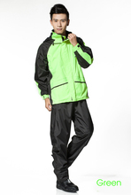 Fashionable Raincoats for Women Mens bicicleta Rain Coats Pants Thickening Motorcycle Rainwear Bicycle Outdoor Rain Jacket Suits