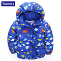 2017 New Fashion Boy's Down Jackets/Coats Winter Autumn Children Coats Thick Cotton Warm Jacket Children Outerwear Down NB0016