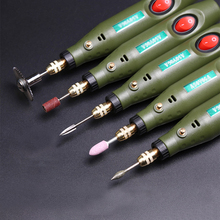 купить Mini DIY electric drill grinder  to send 108 accessories drill engraving polishing set, engraving Pen tools, engraving machine дешево