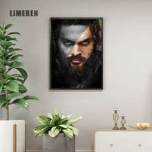 No Frame DC Heros Aquaman Wall Art Picture Poster Canvas Oil Painting Animal Print For Living Room Home Decor Abstract(China)