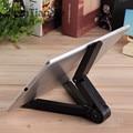 Tabletas flexible del soporte del teléfono para ipad 2/3/4 air/2 mini para iphone 4 5s 6 6 s plus para galaxy s5 s6 edge 360 grado plegada