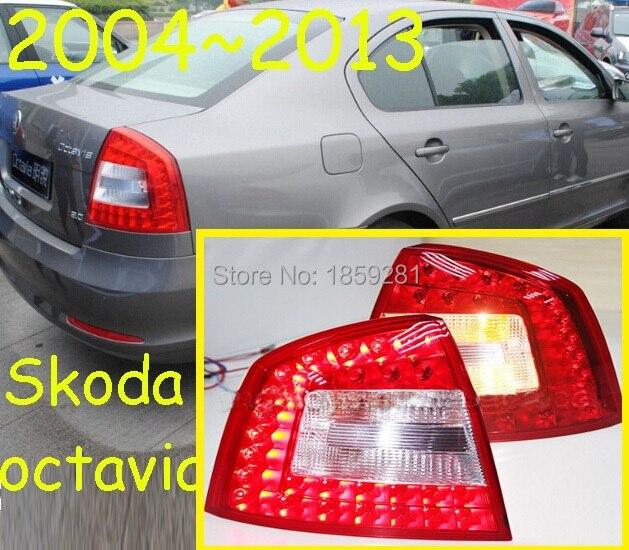 Octavia taillight,2009~2013;Free ship!LED,2pcs/set,Octavia rear light,Octavia fog light;Superb,Octavia