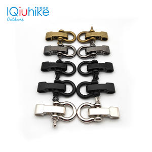 Paracord Bracelet Buckle Anchor Survival-Rope Adjustable Outdoor High-Quality Alloy 2pcs