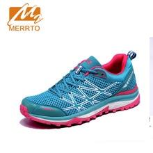 2017 Merrto Women Trail Running Shoes Lightweight Runner Sports Sneakers Mesh For Women Free Shipping MT18593