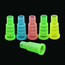 50ชิ้นที่มีสีสันทิ้งยาสูบสำหรับShisha,มอระกู่,ท่อน้ำSheesha,ชิ, Narguileปากท่อเคล็ดลับอุปกรณ์SH 302
