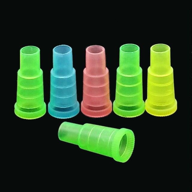 50 יחידות חד פעמי צבעוני מחזיקי סיגריות לנרגילות, נרגילה, צינור מים, Sheesha, Chicha, פה צינור Narguile אביזרי טיפים SH 302