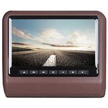 АВТО 9 «HD Цифровой ЖК-Экран DVD Подголовник Автомобиля Монитор Коричневый