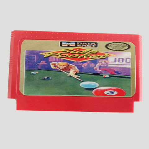 Top Quality Game Cartridge 60 Pins 8 Bit Integrated Game Card Better Than Bean Card — Side Pocket