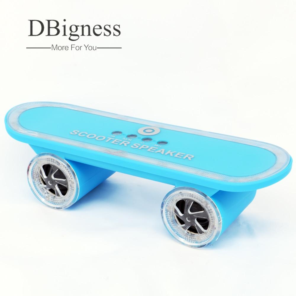 Dbigness Портативный Динамик S скутер скейтборд Bluetooth ...