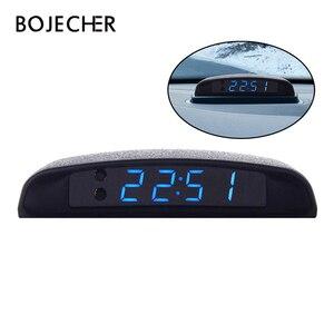 12V Auto clock Car Luminous LE