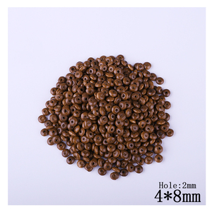 600pcs/Lot 4mm*8mm Light Coffe