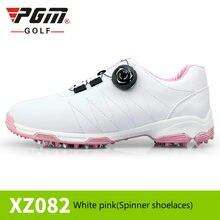 acf8a59bd 2018 Mulheres Sapatos de Golfe À Prova D' Água Esportes Ao Ar Livre Sapatos  Entressola