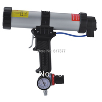 Retail Economy 12 Inches For 400ml Sausage Pneumatic Sausage Caulking Gun With Air Pressure Valve