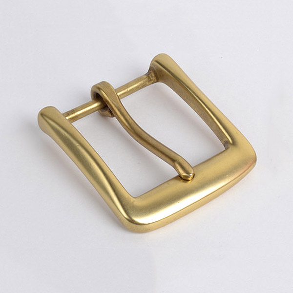 """Cast Solid Brass  1.5/""""  Polished /& Lacquered Buckle Pack of 5 Heel"""