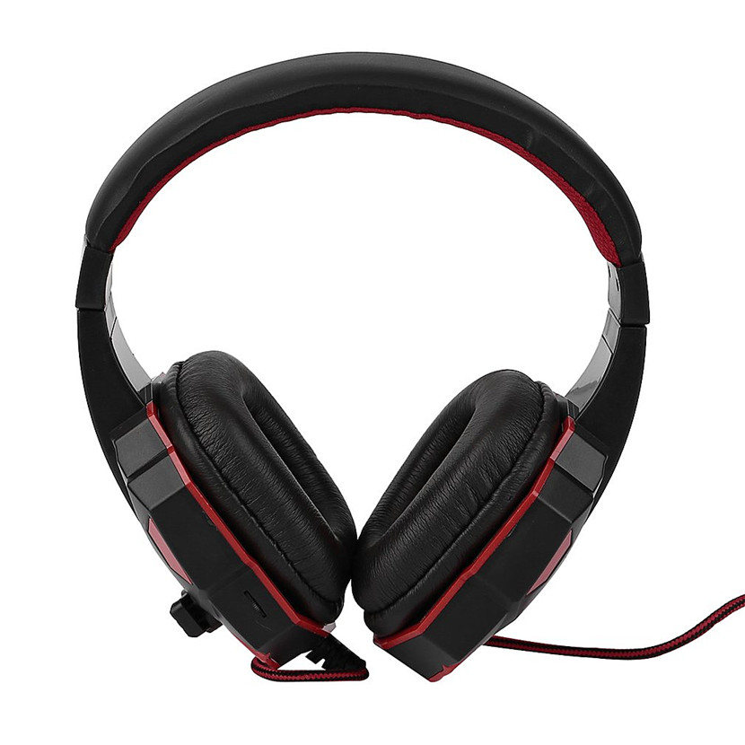 Headphones Headset 3 Colors Adjustable Length Hinges 3.5mm Surround Stereo Gaming Headset Headband Headphone with Mic for PC