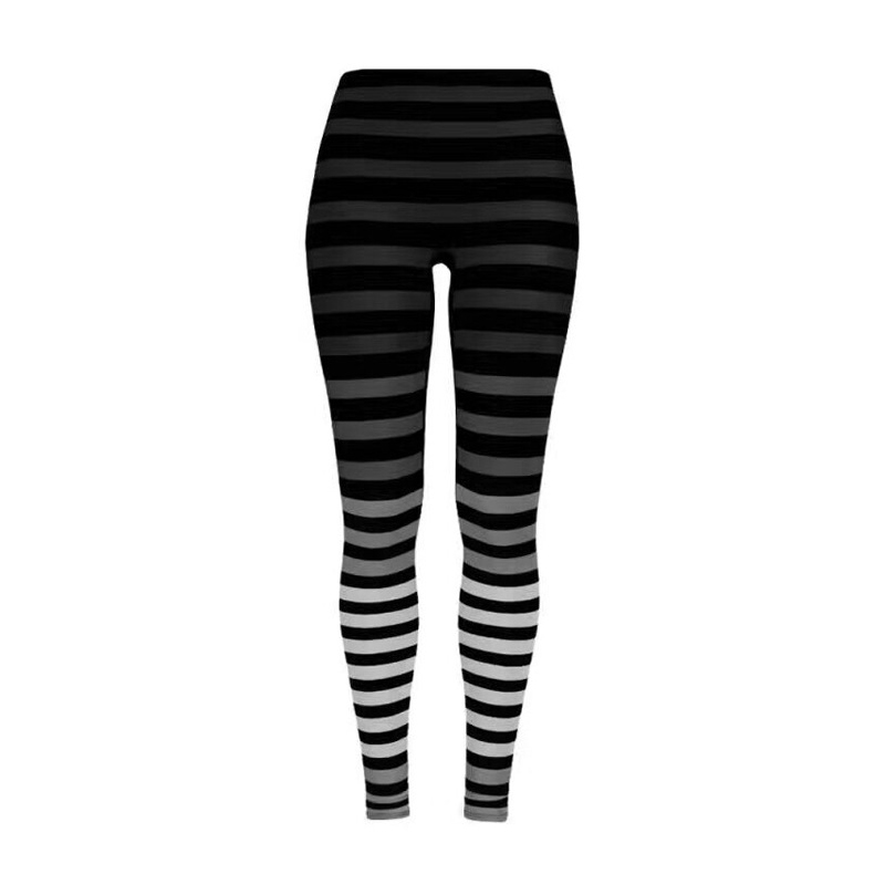 2019 Printed Yoga Pants Women 39 s Tight Pants High Waist Leggings Yoga for Fitness Seamless Sports Running Leggings Sports Pants in Yoga Pants from Sports amp Entertainment