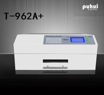 Инфракрасная печь с оплавлением PUHUI T962A +, печь с оплавлением, BGA, SMD, SMT, новая продукция