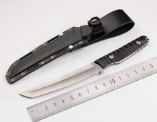 Outdoor Camping Hunting Knife High Hardness Sharp Knife  Vechten Vaste Mes Rechte Combat Mes