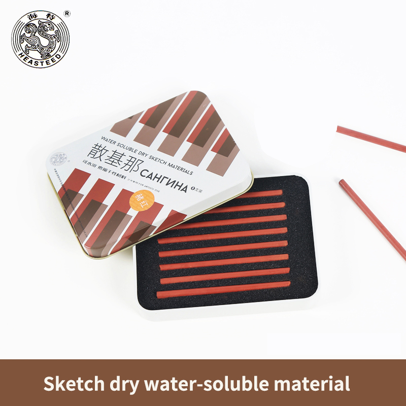 8Pcs/Set Sketch Dry Material Water-soluble Sketch Charcoal Stick Painting Drawing Art Supplies manitobah унты kanada mukluk мужск 8 charcoal св серый