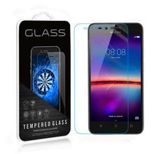 zero.3mm 2.5D 9H Clear Premium Tempered Glass For Huawei Y3II /Y3 2 four.5 inch Display Protector pelicula de vidro