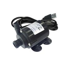 Alta portata 280 L/H mini pompa ad acqua 12 V 12 V USB 5V pompa 12VDC acqua pompa 12 volt pompa per lacqua