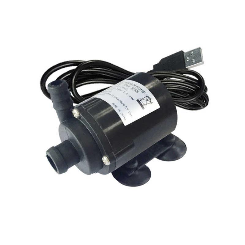 High flow rate 280 L/H mini water pump 12V 12 V USB 5V pump 12VDC water pomp 12 volt pump for water