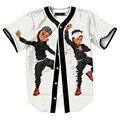 Riley golpear Gente Baile Malezas Jersey Todo de Impresión 3D béisbol Camiseta Inconformista Calle Hip Hop Verano Tops Mujeres de Los Hombres M-XXL