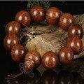 Ubeauty Natural cuentas de madera pulseras de los hombres de buda budista oración mala rosario Pulsera De Madera pulsera de las mujeres Religión Charm