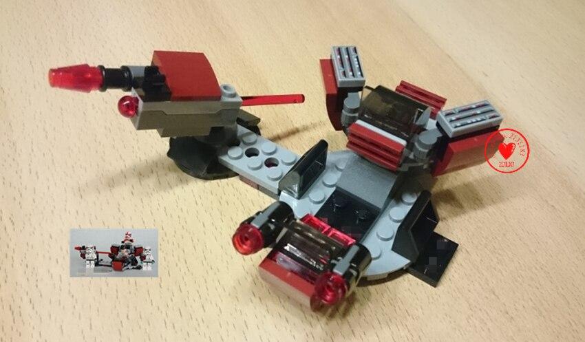 10573 133pcs Star Wars Series Galactic Empire Battle Pack Bela Building Block Compatible 75134 Brick Toy kid gift set christmas