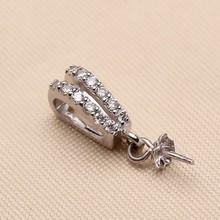 Fashion Pearl Pendant Mountings, Pendant Findings, Pendant Settings Jewelry Parts Fittings Jewellery Accessories, 10pcs/lot