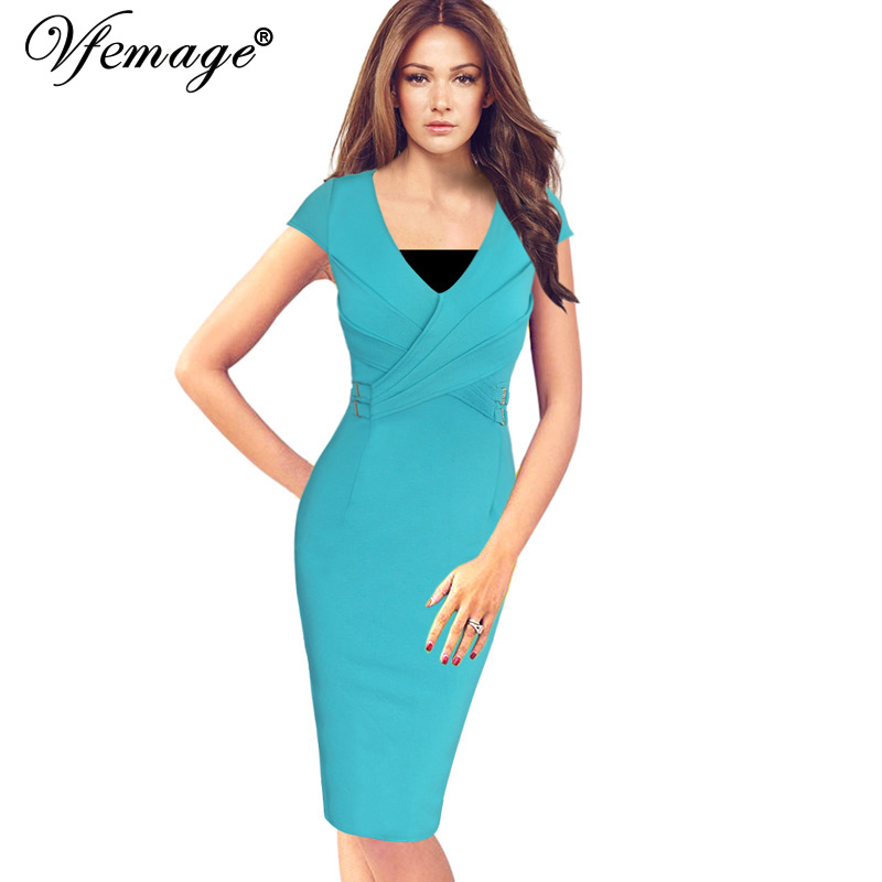 Женское платье Vfemage 6610
