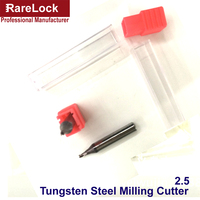 Rarelock Locksmith Tool Suppliers Key Copy Machine Accessory 2.5 Tungsten Steel Milling Cutter Coarse ThreadFurnitureHardware a