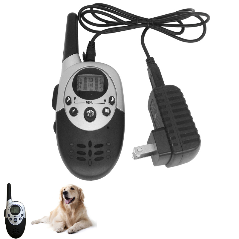 Waterproof 1000 Yard Remote Dog Training Collar Rechargeable No Bark Collar for Dogs Hot Sale