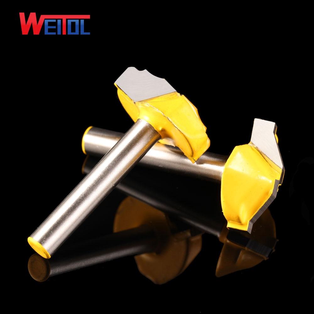 Weitol 1db 6.35mm luxus arany coler ajtó deszka vágó minta CNC - Szerszámgépek és tartozékok - Fénykép 2