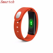 Smartch QS80 Smart Bracelet Heart Rate Blood Pressure Fitness Tracker Smart Electronics 0.42 inch TFT OLED Wristband for BT Phon