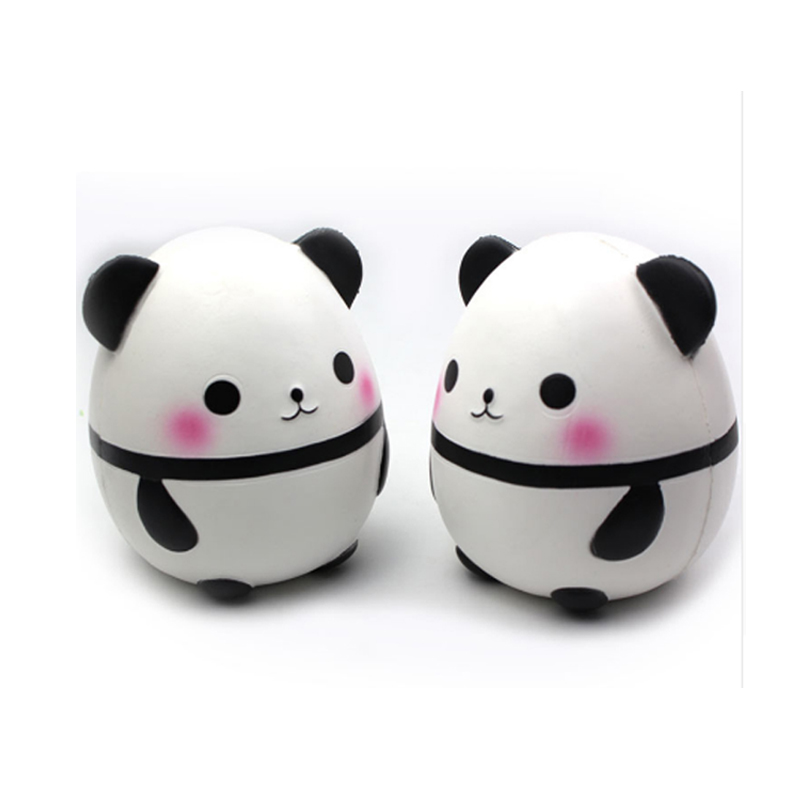 15cm Cute Suqishy Toys Car Decoration Animal Kids Toys Soft Squeeze Fun Doll Fat Panda Pressure Relife Toys for Kids& Adults