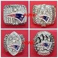 El Envío Gratuito! réplica conjunto 2001 2003 2004 2014 New England Patriots Super Bowl Anillos de Campeonato de Fútbol de regalo