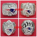 Free Shipping !Replica 2001 2003 2004 2014 New England Patriots set  Super Bowl Football Championship Rings gift