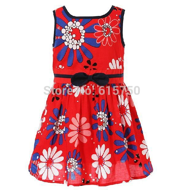 Aliexpress.com : Buy Cheapest 2015 Girls Summer Dress Floral Brand ...