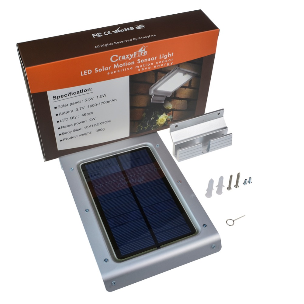 46 diodo emissor de luz solar com 01