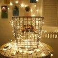 1-5 M Led luzes Cordas 10-50Leds Todas As cores em estoque Com caixa de bateria para o Partido Decoração Do Feriado Jardim Fada Mini Lanterna SW