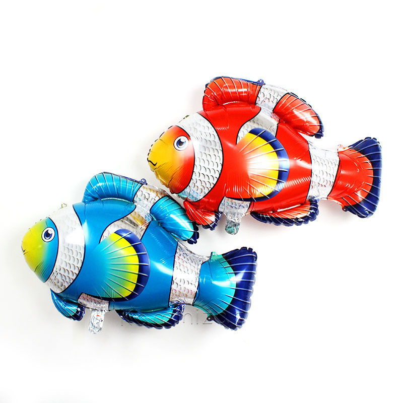 Clown Fish Foil Balloons Childrens Inflatable Toys Globos Birthday Party Decorations Kid ...